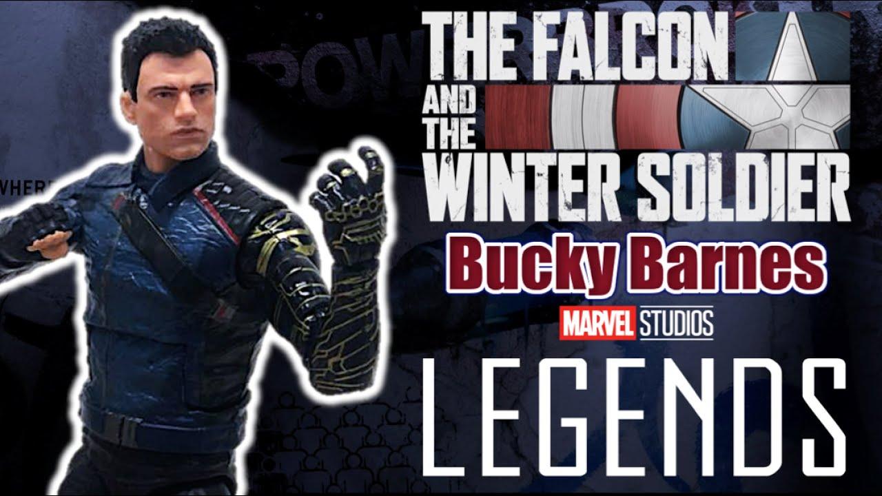 Marvel Legends - BUCKY BARNES | El Soldado del Invierno - Reseña Hasbro (2021) Disney + TOY SHOTS