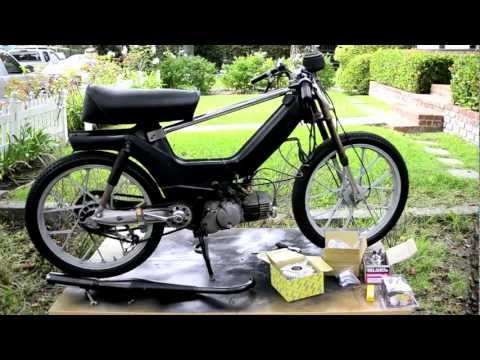 HOW TO: PUCH e50 Engine top end rebuild/ overbore 70cc kit