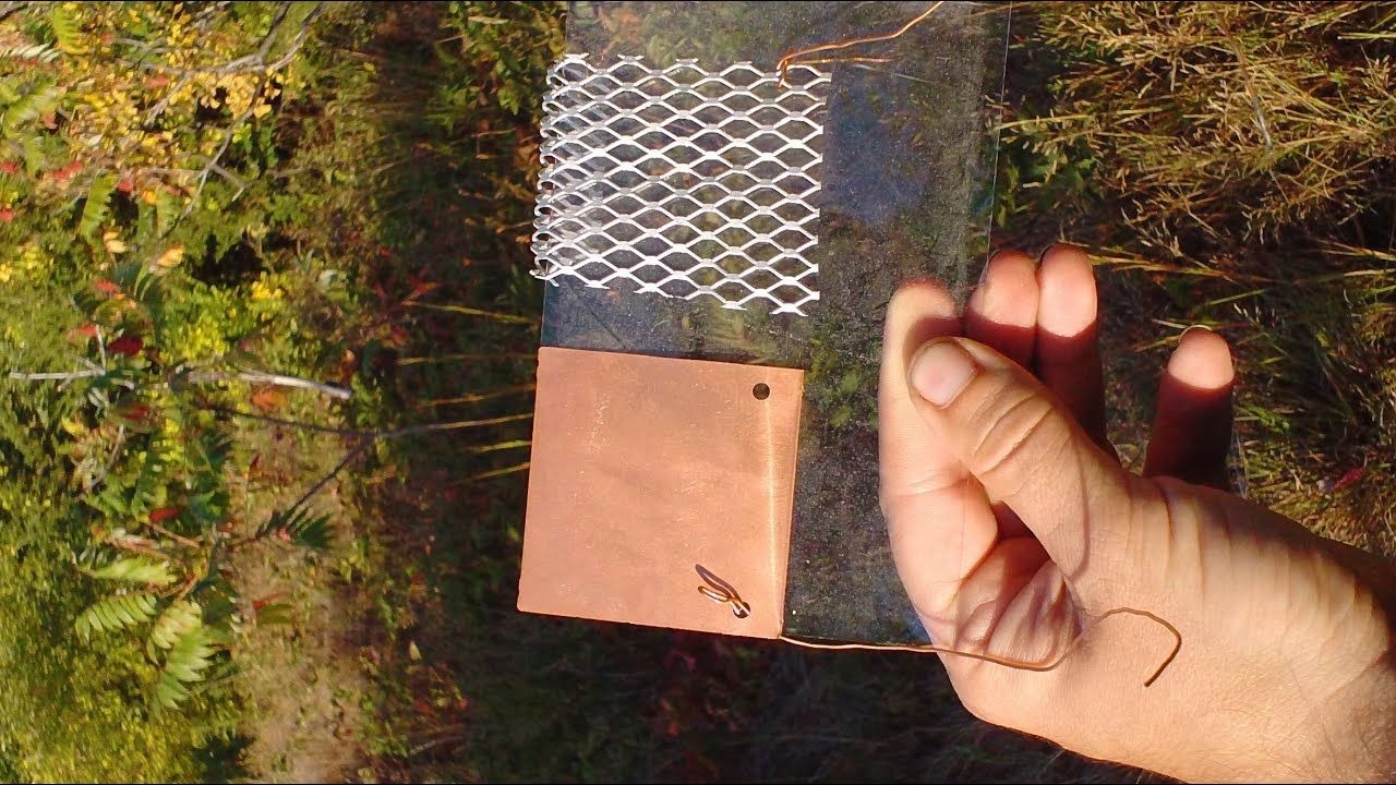 Diy Solar Cell Youtube