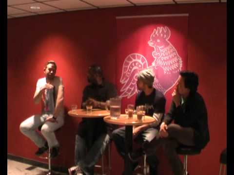 Artist talk at TUPP with Lemon Andersen, Beau Sia & Poetri part 4
