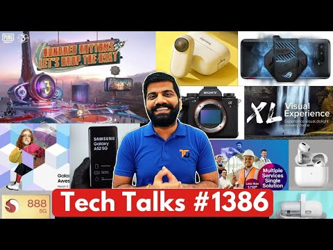 Tech Talks #1386 – ROG 5 18GB RAM, PUBG Mobile Huge Update, Nokia G10, JioBusiness, AirPods 3, SD888