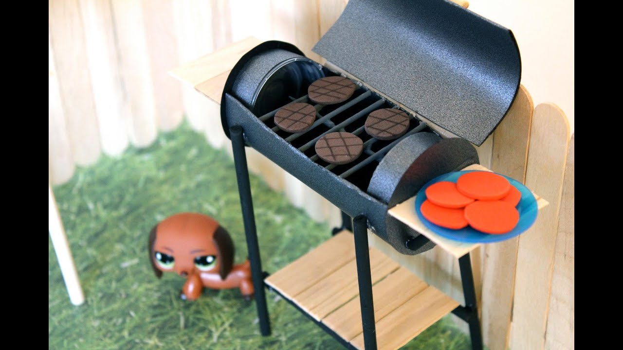 How To Make A Doll Bbq Grill Doll Crafts Youtube