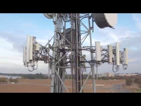 Drone Footage: Flying a Telecom Tower