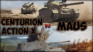 Centurion Action X vs Maus(Группа ВК: https://vk.com/mejio4uwot Сайт: http://wot-ka4.ru Стрим: http://ru.twitch.tv/ZuYuRocK Music: Foo Fighters - The One., 2016-03-12T18:29:41.000Z)