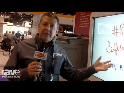 InfoComm 2015: Ricoh Introduces D5510 Interactive Whiteboard
