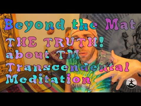 The SECRET to Transcendental Meditation TM - Beyond the Mat 71