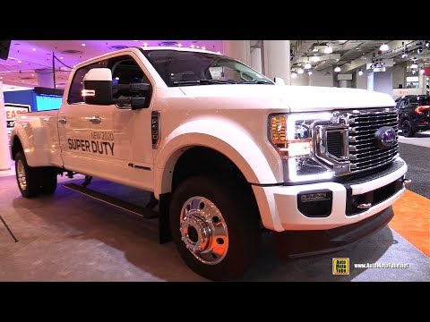 2020 Ford F450 Super Duty Limited - Exterior and Interior Walkaround - 2019 NY Auto Show
