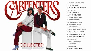 Carpenters Collected - The Carpenters Best Songs Ever - The Carpenters Greatest Hits Full Album 201