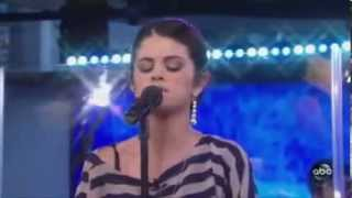 Selena Gomez - A Year Without Rain (Live @ Good Morning America)