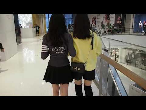 Girls Holding Hands | Are They Really Dating?!😯 (Street of Shenzhen China)