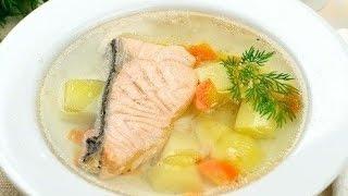 Уха из лосося и рыбацкая байка