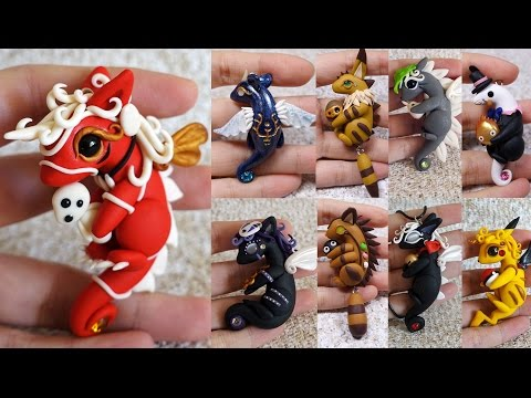 Studio Ghibli Inspired Dragons Collection | Polymer Clay & Resin Creations Update