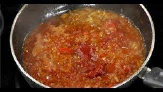 Луковый соус с томатом ко всему / мастер-класс от шеф-повара / Илья Лазерсон / Обед безбрачия