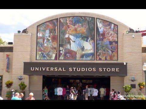 Universal Studios Store Detailed Tour Universal Studios Florida HD