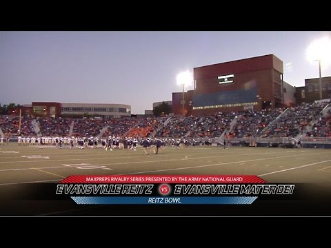 2015 MaxPreps Rivalry Series Game 3 - Evansville Reitz (IN) Vs. Evansville Mater Dei (IN)