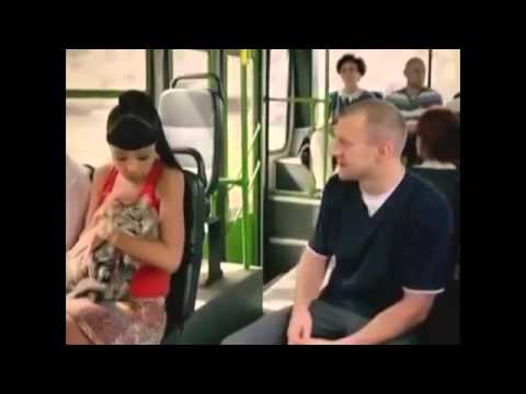 видео лапанье в транспорте