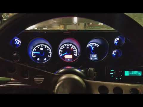 70 Chevelle With HDX Gauges.