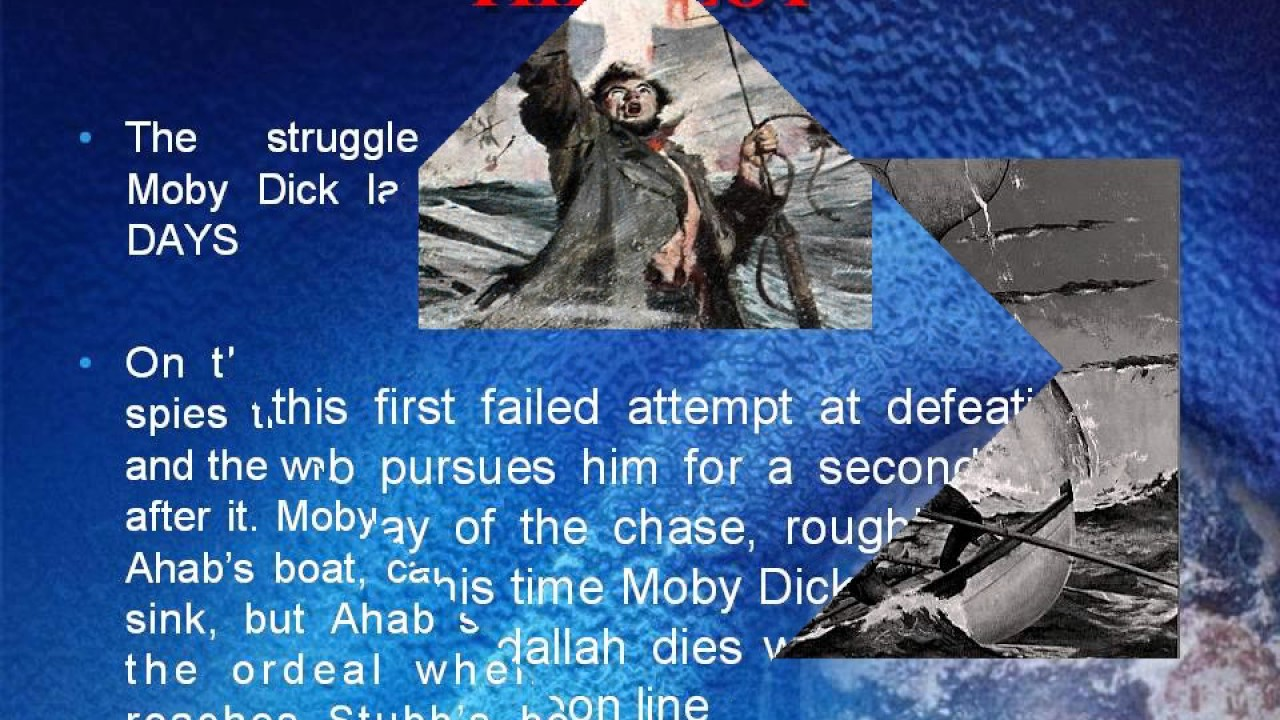 of moby dick Plot
