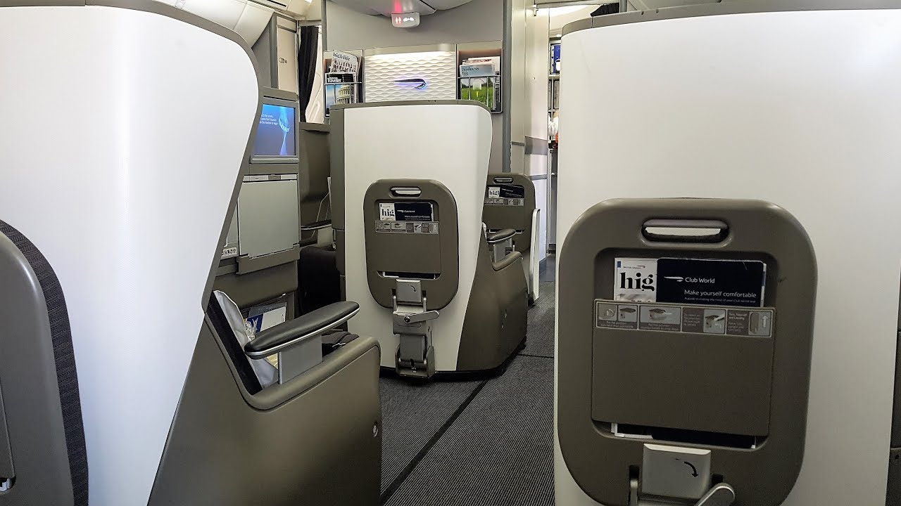 British Airways 787 Business Class  Is it any better?