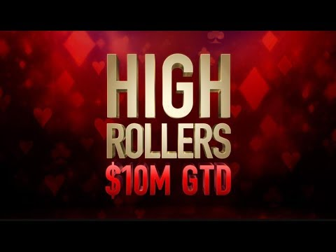 "High Rollers 2018 | $10,300 Event #07 With Simon ""C Darwin2"" Mattsson"