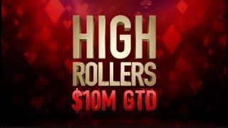 "High Rollers 2018 | $10,300 Event #07 with Simon ""C Darwin2"" Mattsson"