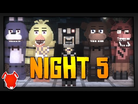 MINE Nights At Freddy's Fun Park | NIGHT 5 | FNAF Minecraft Roleplay