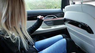 2017 BMW 7 SERIES 750d G11 ODCINEK SPECJALNY z Weroniką :) Test i Jazda Próbna PL