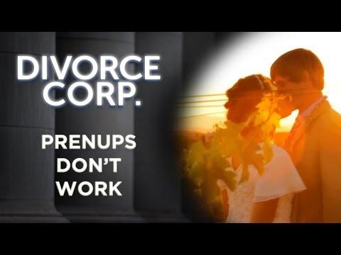 Divorce Corp Film: Prenups Don't Work (Documentary)
