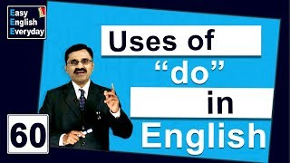 "English classes online free | How to use ""do"" in a sentence 