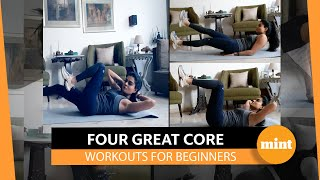 Got 10 minutes? Power up your abs at home
