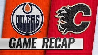 Lindholm scores twice as Flames rally past Oilers