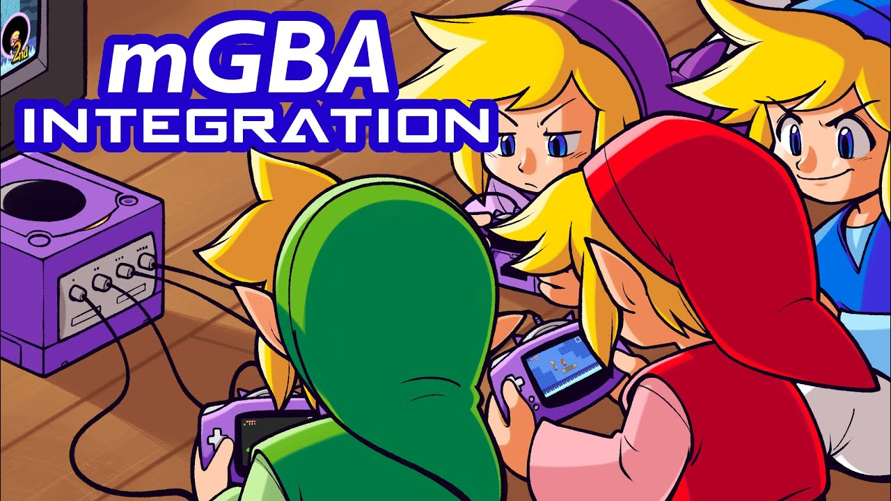 mGBA Integration Demonstration - Take GBA/GCN Connectivity Games Online!