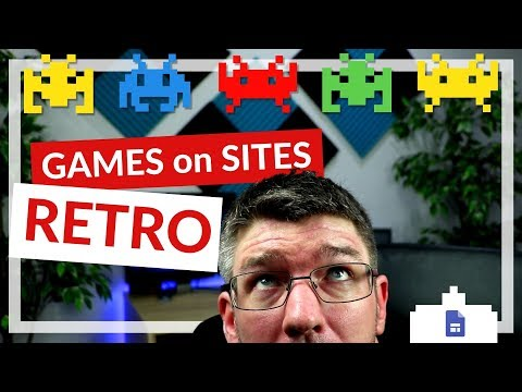 Retro Games on Your Google Sites