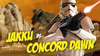 JAKKU VS CONCORD DAWN