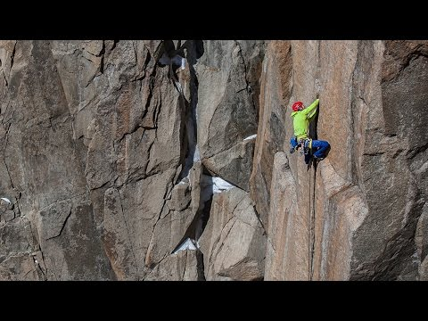 Tommy Caldwell Digs Deep On Slippery, Ice-Covered Crack Climb | Epic Climber, Ep. 7