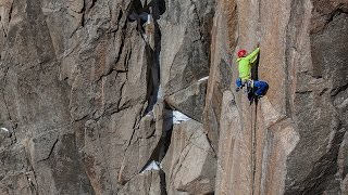 Tommy Caldwell Digs Deep On Slippery, Ice-Covered Crack Climb