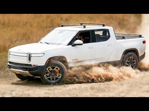 Rivian R1T: Building Test Trucks for Tesla Cybertruck\'s Biggest Rival