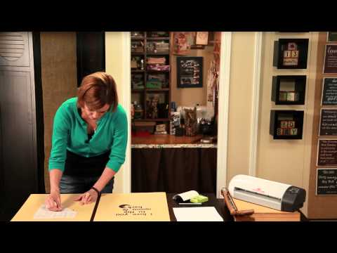 How to Make Wall Decals With Vinyl Paper & Transfer Tape : Crafting Projects