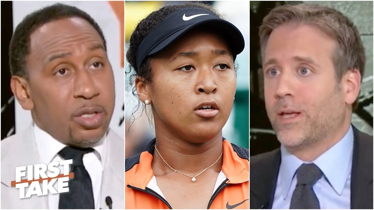Download First Take reacts to Naomi Osaka withdrawing from the French Open