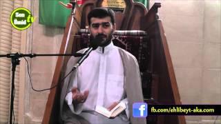 Hacı Samir _ Ramazan moizəsi  (Saleh peyğəmbər (ə)-ın dastanı) [07.07.2015]