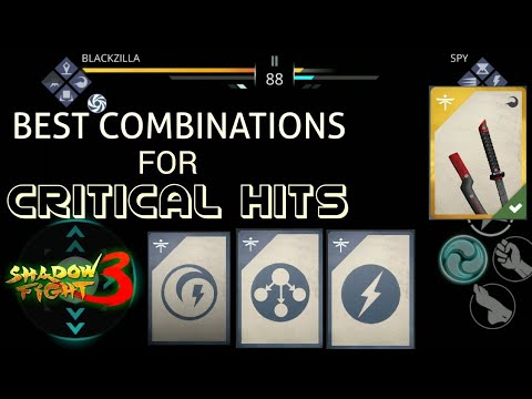 Shadow Fight 3 Best Combination For Critical Hit Damage