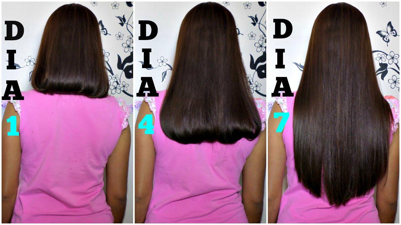 2 como el una crecer cm en hacer cabello noche