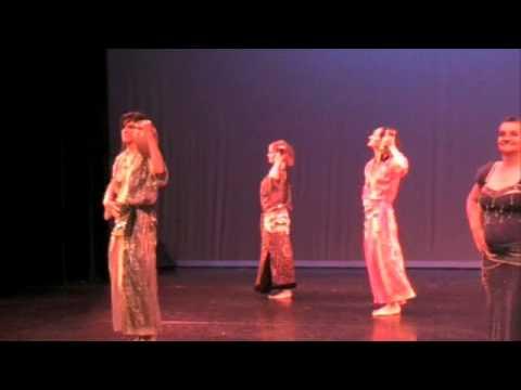 """danse orientale 7 voiles rouen """"danse des jarres"""" juin 2008"""