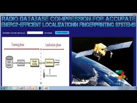 Final Year Projects | Radio Database Compression for Accurate