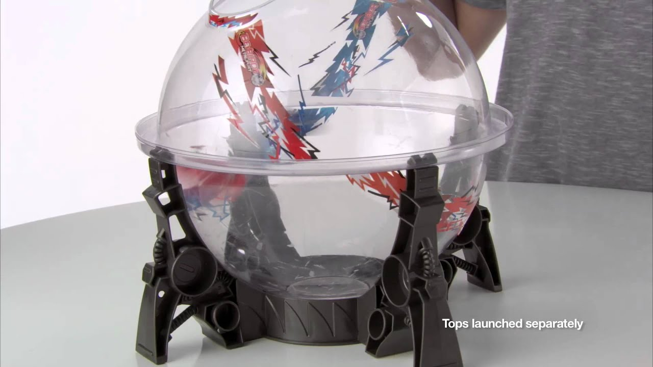 Beyblade Metal Fury Performance Top System Destroyer Dome Set