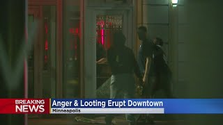 Video Shows Man Being Assaulted Outside WCCO Amid Unrest