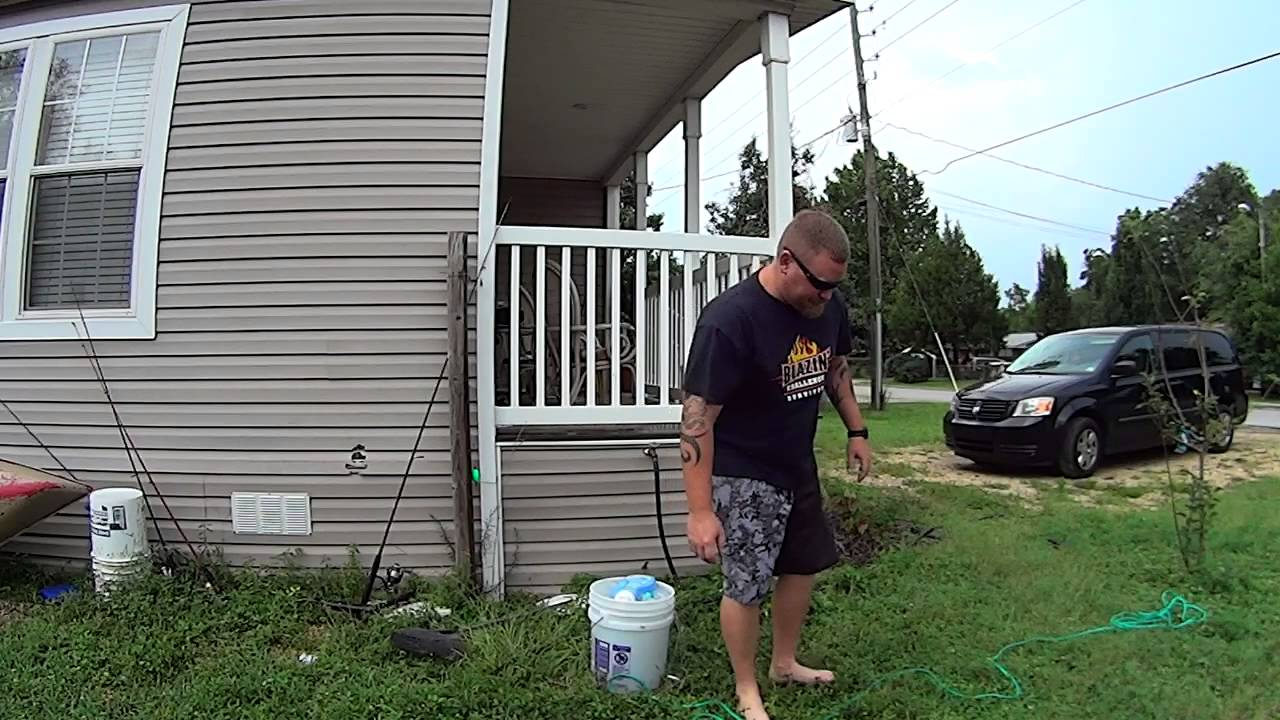 how to clean a cast net youtube