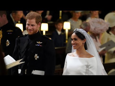 Royal wedding: Harry and Meghan exchange vows