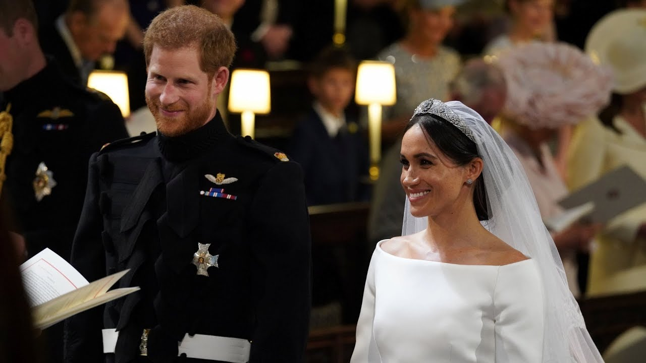 Download Royal wedding: Harry and Meghan exchange vows