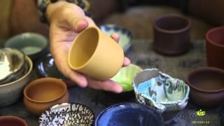 Обзор: Чайные пиалы. глина, фарфор, смешанная техника.
